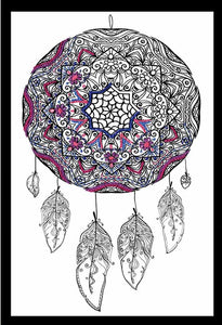Dreamcatcher Zenbroidery by Design Works