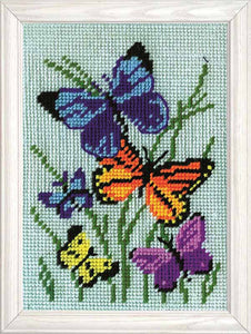 Butterflies Galore Tapestry Kit by Design Works
