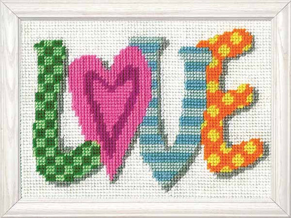 Love Tapestry Kit by Design Works