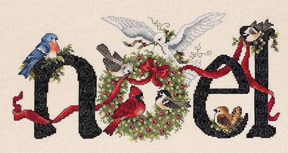 Noel Cross Stitch Kit by Janlynn