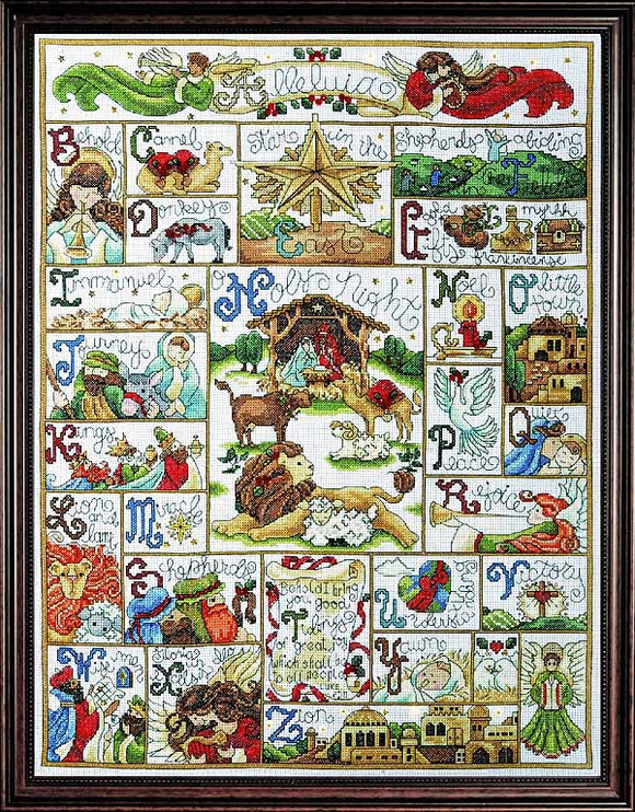 Oh Holy Night Cross Stitch Kit by Design Works