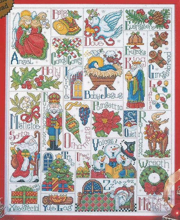ABC Christmas Cross Stitch Kit by Design Works