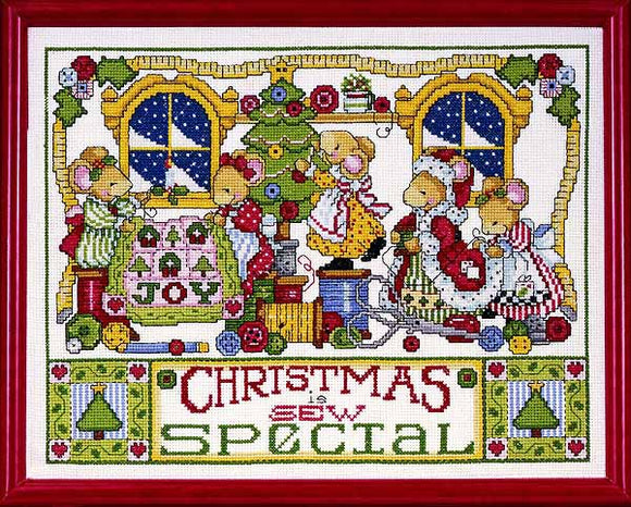 Christmas is Sew Special Cross Stitch Kit by Design Works