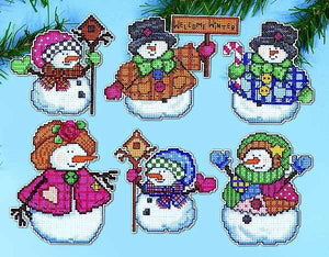 Welcome Winter Ornaments Cross Stitch Kit by Design Works