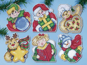 Holiday Gifts Ornaments Cross Stitch Kit by Design Works
