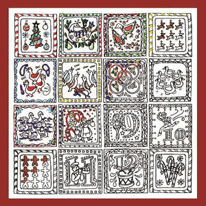 12 Days of Christmas Zenbroidery by Design Works