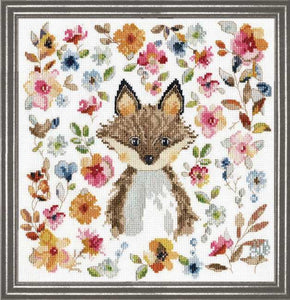 Fox Cross Stitch Kit by Design Works