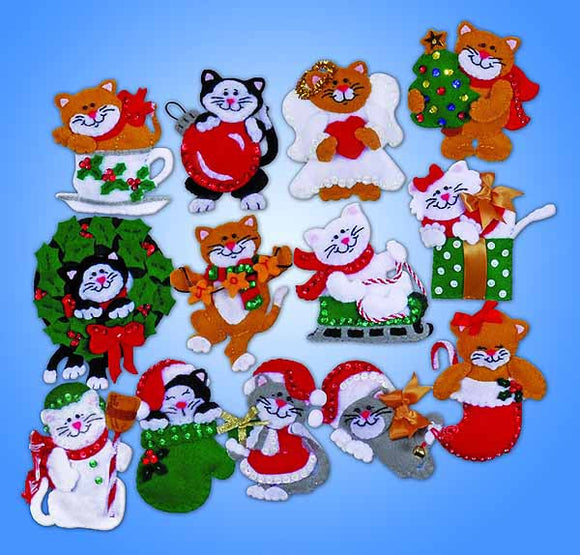 Lots of Kittens Felt Applique Kit by Design Works