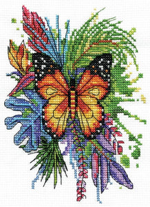 Butterfly Cross Stitch Kit by Design Works