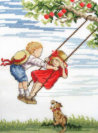 Higher All Our Yesterdays Cross Stitch Kit by Faye Whittaker
