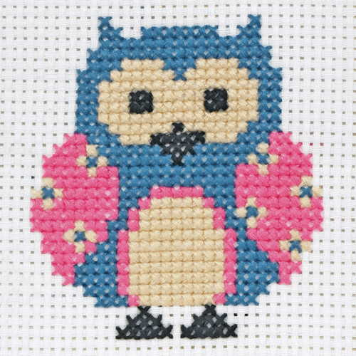 Zoe First Cross Stitch Kit By Anchor