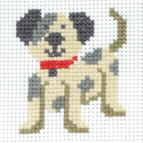 Toby First Cross Stitch Kit By Anchor