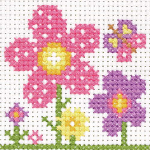 Sarah First Cross Stitch Kit By Anchor