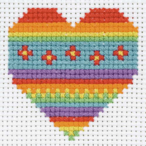 Heart First Cross Stitch Kit By Anchor