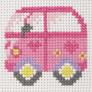 Camper Van First Cross Stitch Kit By Anchor