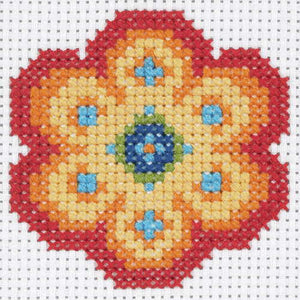 Flower First Cross Stitch Kit By Anchor