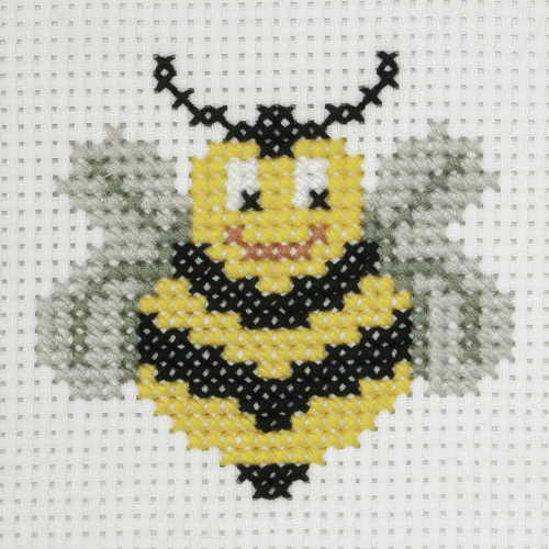 Bee First Cross Stitch Kit By Anchor