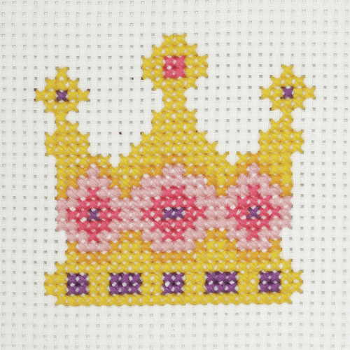 Crown First Cross Stitch Kit By Anchor