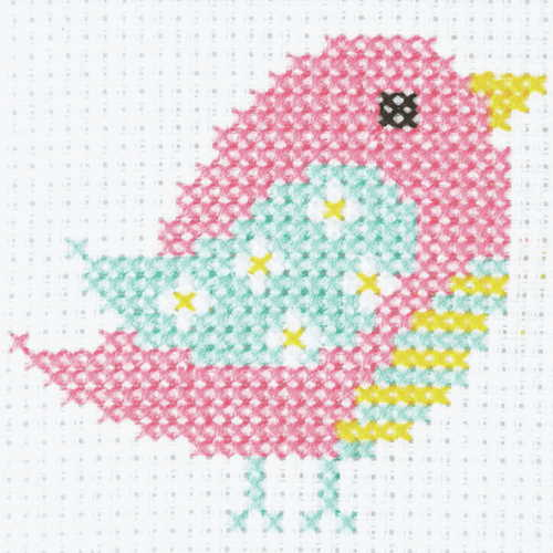 Bird First Cross Stitch Kit By Anchor