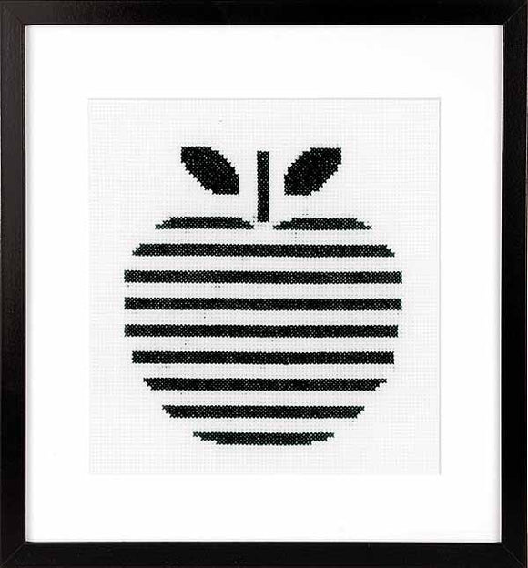 Apple Cross Stitch Kit By Vervaco