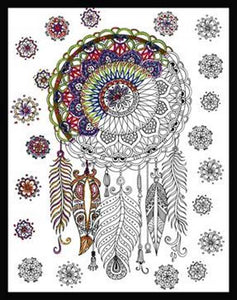 Trendy Dreamcatcher Zenbroidery by Design Works
