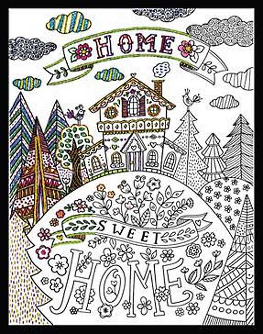 Home Sweet Home Zenbroidery by Design Works