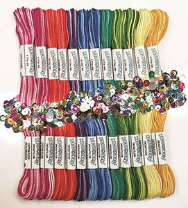 Zenbroidery Variegated Trim Pack by Design Works