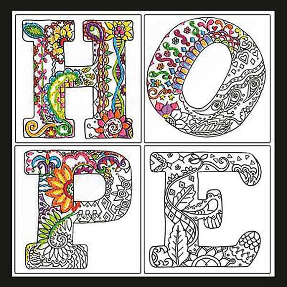 Hope Zenbroidery by Design Works