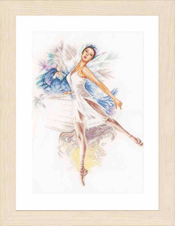 Ballerina Cross Stitch Kit By Lanarte