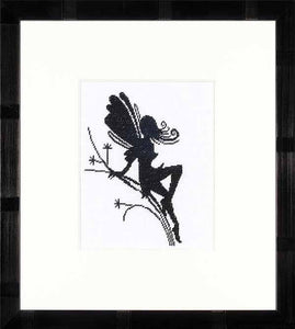 Fairy Silhouette Cross Stitch Kit By Lanarte