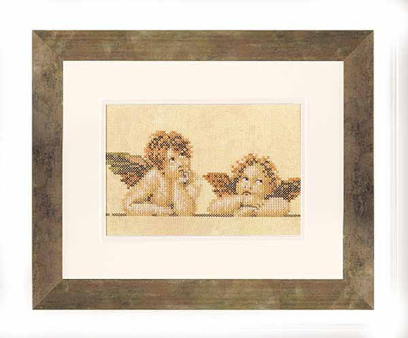 Raphaels Angels Cross Stitch Kit By Lanarte