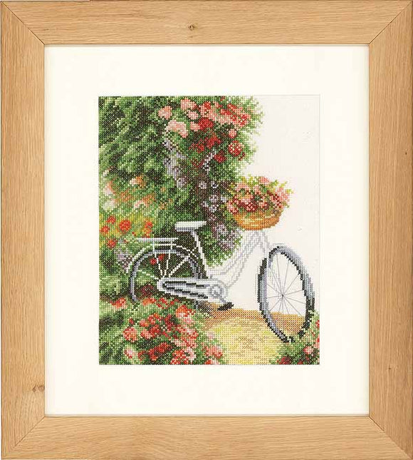 My Bicycle Cross Stitch Kit By Lanarte