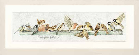 The Pecking Order Cross Stitch Kit By Lanarte