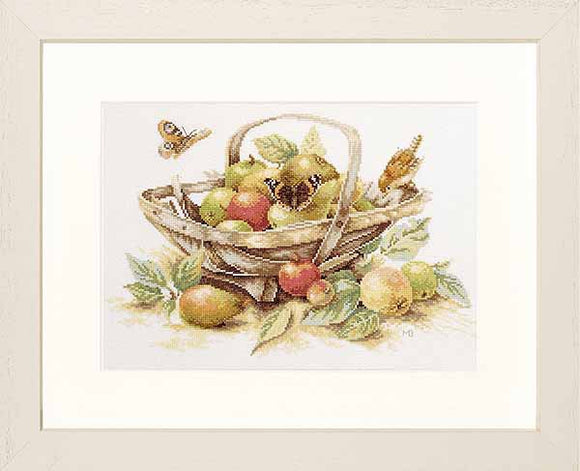 Summer Fruit Cross Stitch Kit By Lanarte
