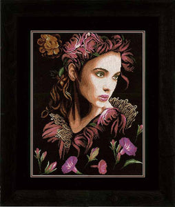 Contemplation Cross Stitch Kit By Lanarte