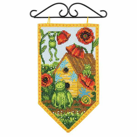 Summer Banner Cross Stitch Kit By Dimensions