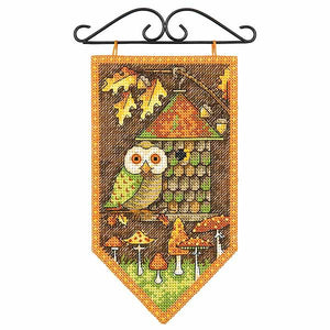 Autumn Banner Cross Stitch Kit By Dimensions