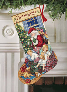 Sweet Dreams Christmas Stocking Cross Stitch Kit by Dimensions