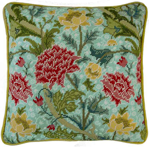 Cray William Morris Tapestry Cushion Kit By Bothy Threads