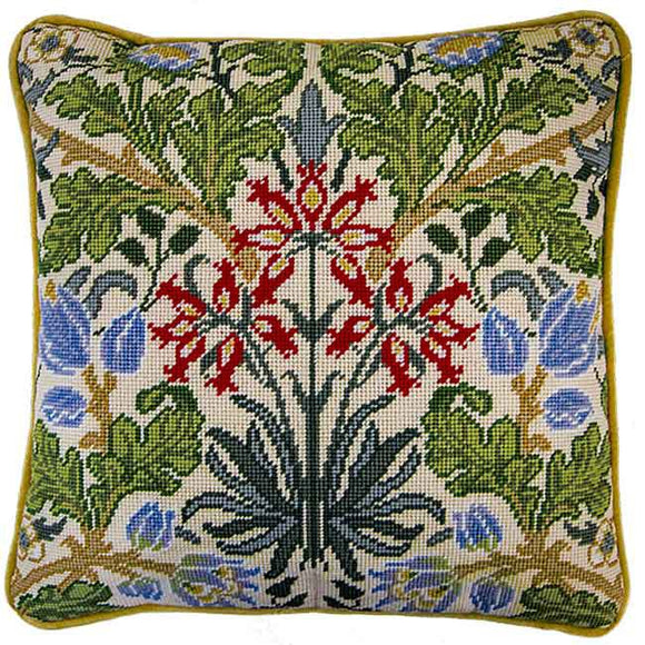Hyacinth William Morris Tapestry Cushion Kit By Bothy Threads