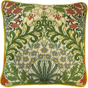 Garden William Morris Tapestry Cushion Kit By Bothy Threads