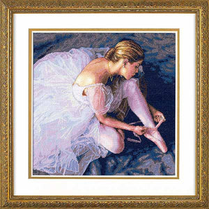 Ballerina Beauty Cross Stitch Kit by Dimensions