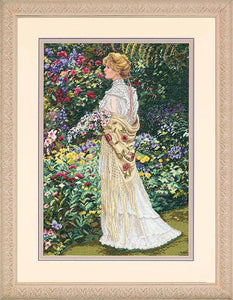 In Her Garden Cross Stitch Kit by Dimensions