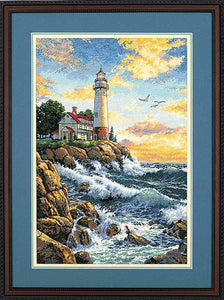 Rocky Point Cross Stitch Kit by Dimensions