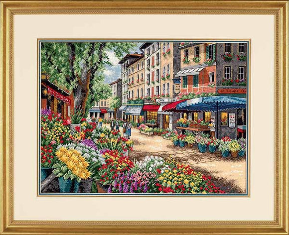 Paris Market Cross Stitch Kit by Dimensions