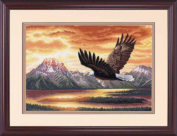 Silent Flight Cross Stitch Kit by Dimensions