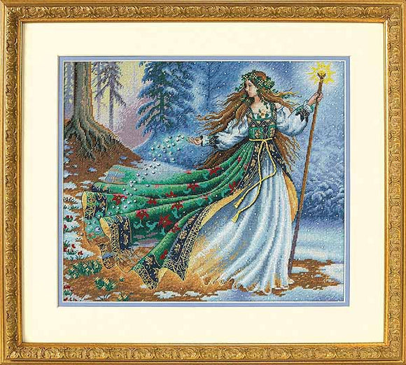 Woodland Enchantress Cross Stitch Kit by Dimensions