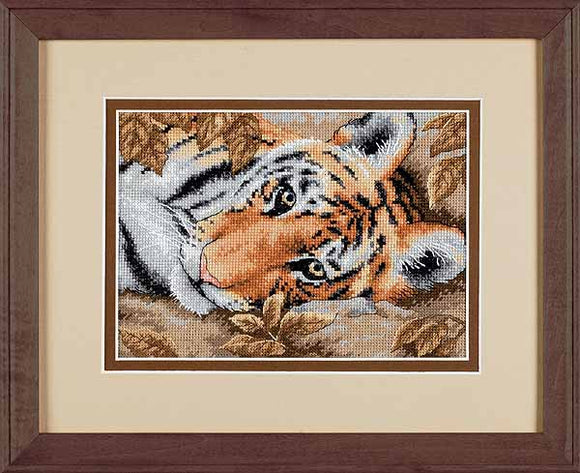 Beguiling Tiger Cross Stitch Kit by Dimensions