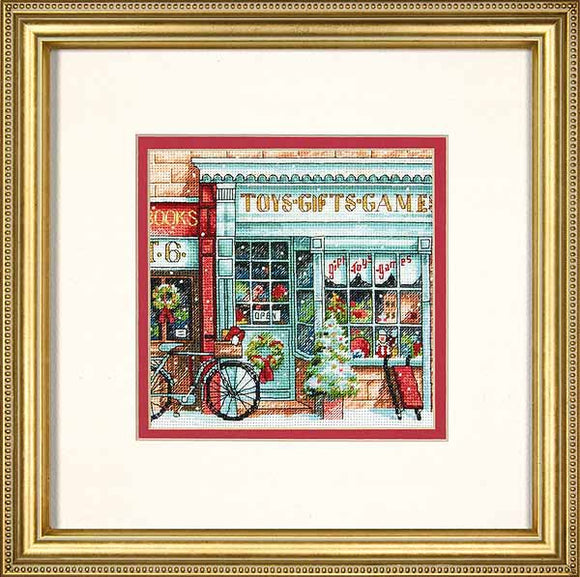 Toy Shoppe Cross Stitch Kit by Dimensions