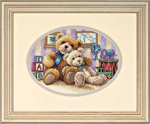 Warm and Fuzzy Cross Stitch Kit by Dimensions